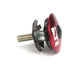 M-Wave Ahead Headset Cap and Claw - Red