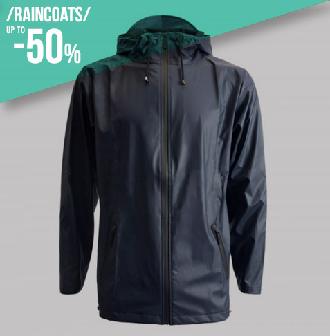 Raincoats up to -50%