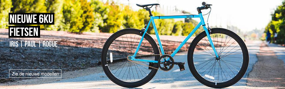 6KU Fixid Gear Bicycles 2017