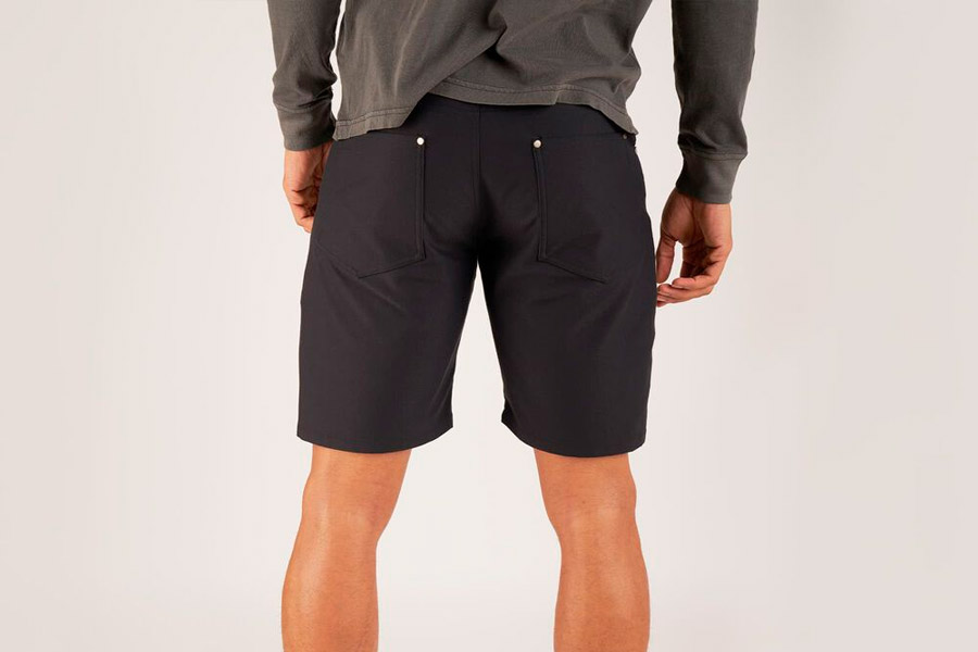 Shorts ciclista Chrome Industries Madrona Negro 2