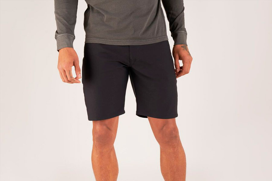 Shorts ciclista Chrome Industries Madrona Negro 3