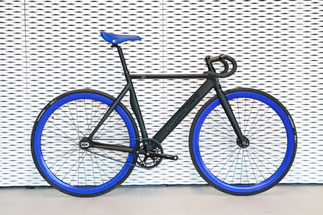 santa fixie buy the fabricbike air matte black blue. Black Bedroom Furniture Sets. Home Design Ideas
