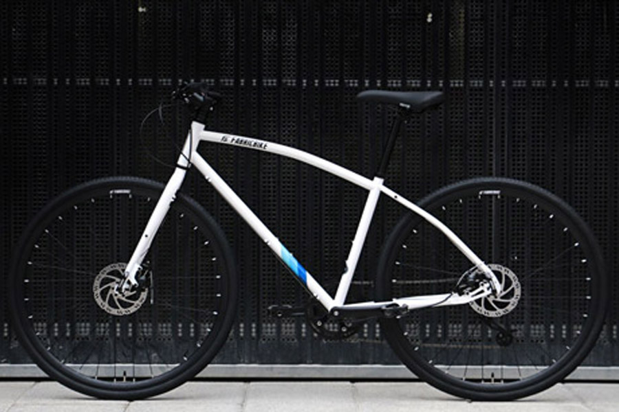 FabricBike Commuter Bicycle - White 2