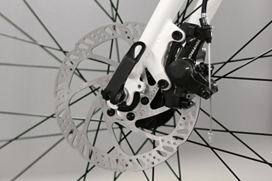 FabricBike Commuter Bicycle - White 4