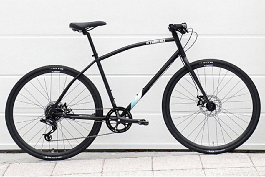FabricBike Commuter Bicycle - Black 1