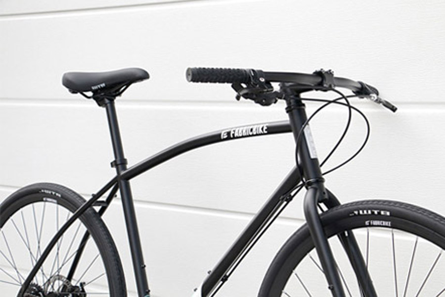 FabricBike Commuter Bicycle - Black 2