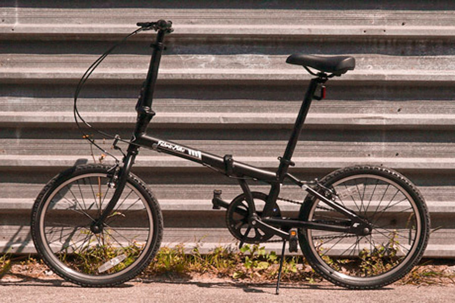 FabricBike Folding Bicycle - Matte Black 1