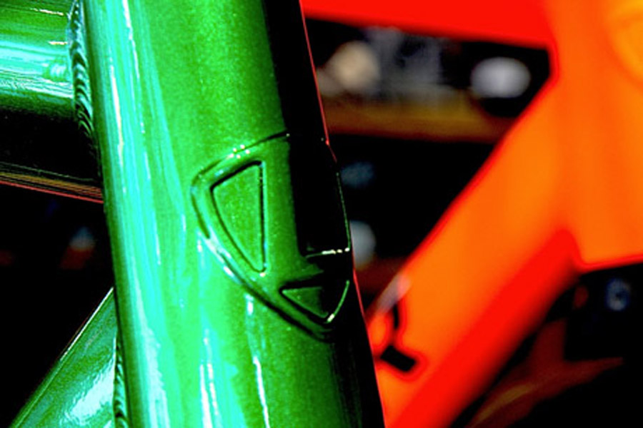 Leader 721 2016 Frame - Green Gliter 3