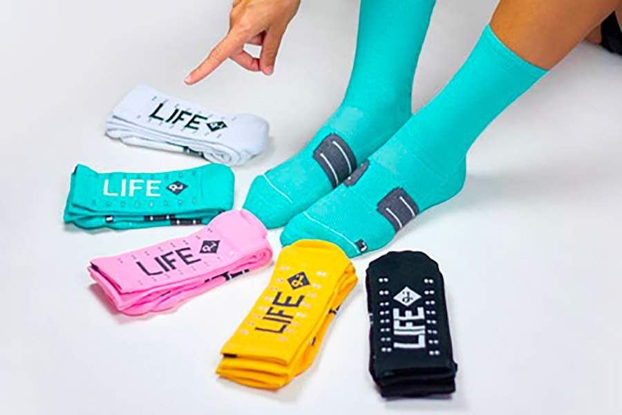 Calcetines Pacifico Speed/Slow Life V2.0 Turquesa 4