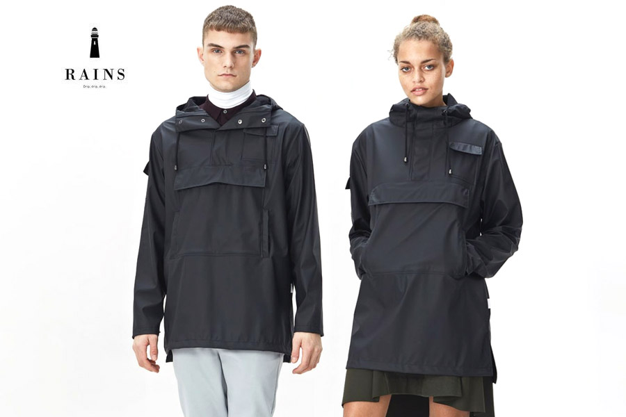0fe7b7ad0 Buy Rains Camp Anorak in black - Unisex