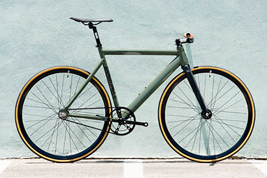 Bicicleta Fixie State Premium Black Label V2 Army Green 1