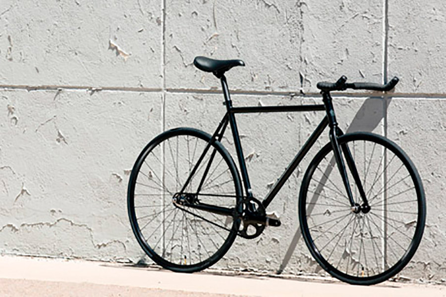 State Bicycle Co. 4130 Core Line Fixie / Singlespeed Fahrrad - Matte Black 6.0  1