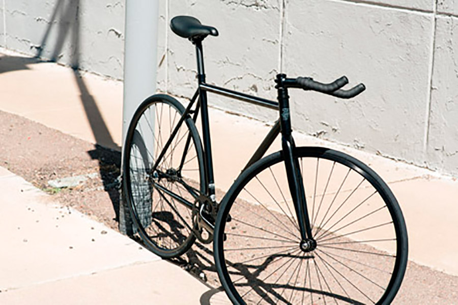 State Bicycle Co. 4130 Core Line Fixie / Singlespeed Fahrrad - Matte Black 6.0  2