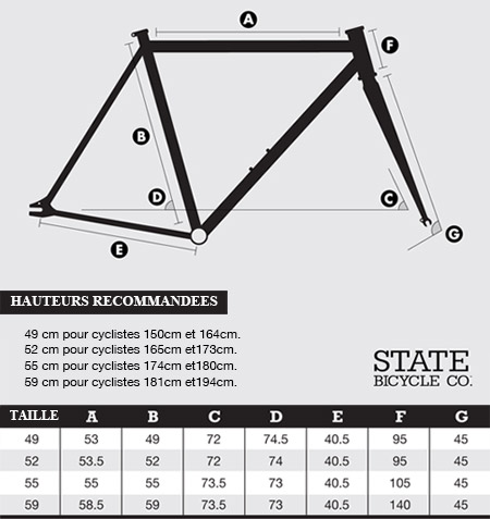 Tailles State Bicycle