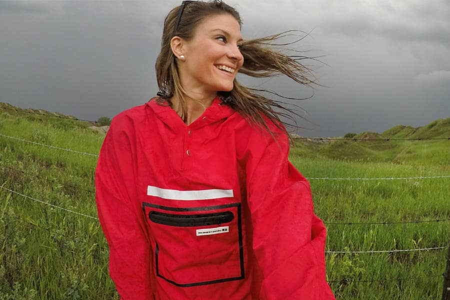 The Peoples Poncho 3.0 Red