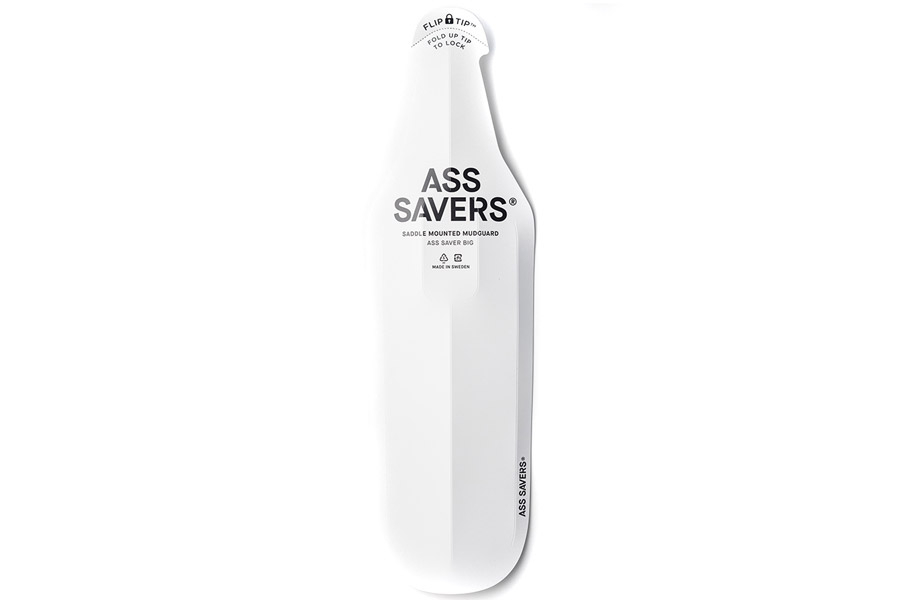 Ass Savers Big Spatbord - Wit