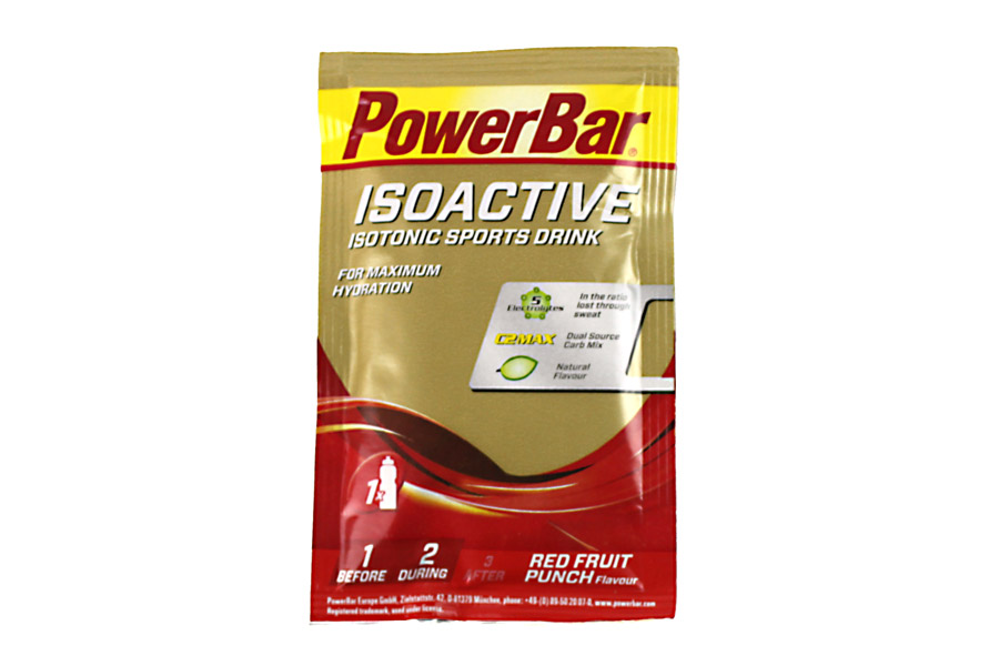 PowerBar Isoactive Red Fruit Punch Isotone Drank
