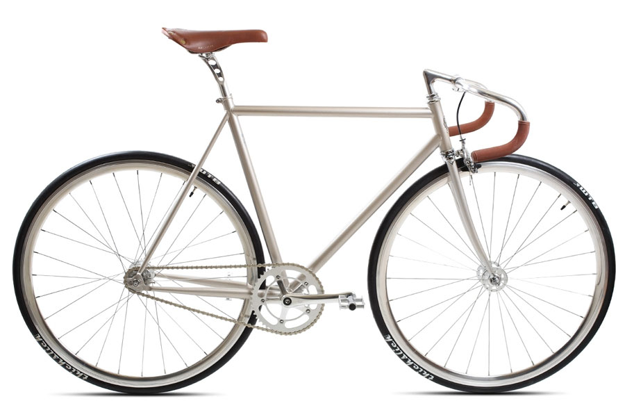 BLB City Classic Champagne Single Speed Fiets