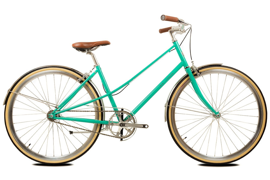 BLB Cleo Emerald Green Single Speed Fiets