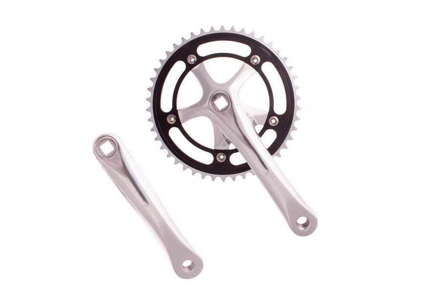Mighty Solid4 Crankset 46t - Zilver