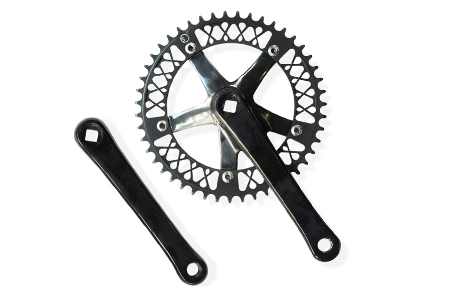 Factory Five Lattice 47T Crankset - Zwart