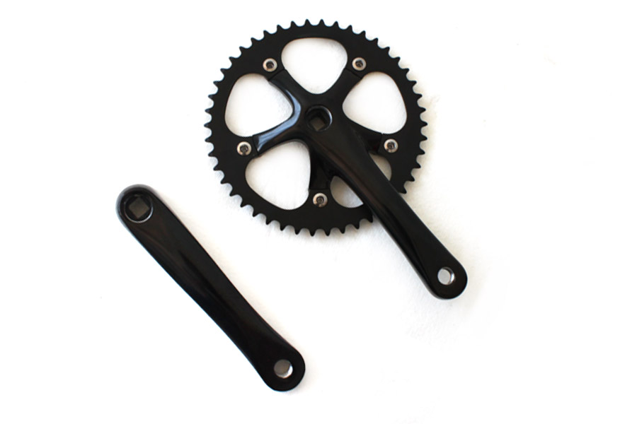 Mighty Crankset 165mm 46t - Zwart
