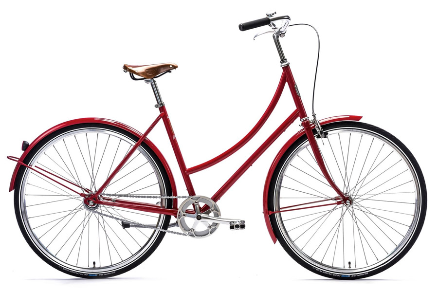 Pelago Brooklyn Classic Damesfiets - Dapper Red