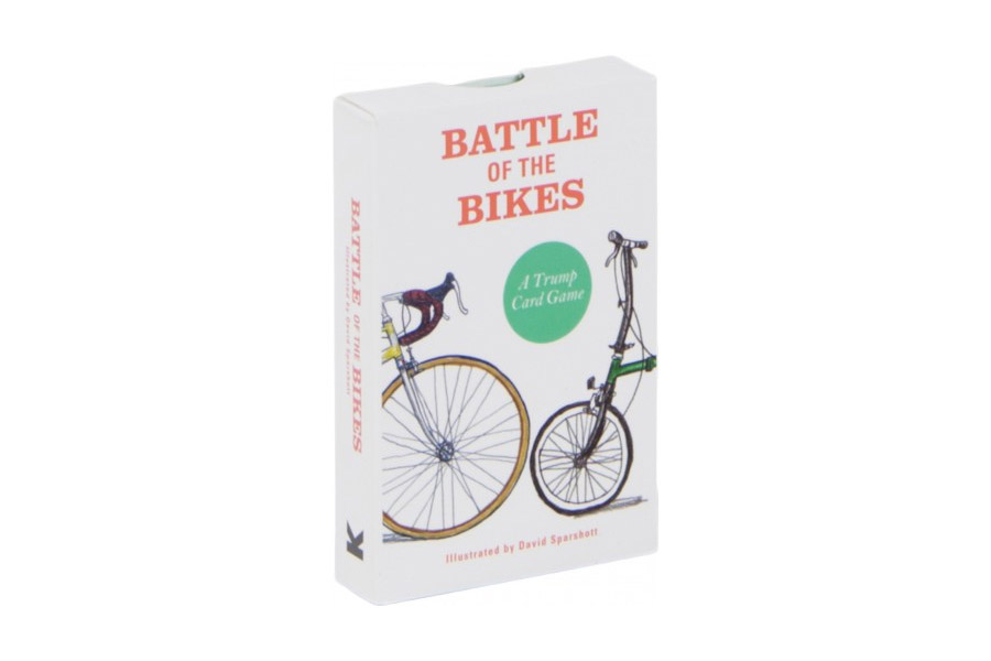 Battle of the Bikes: A Trump Card Game Kaartenspel