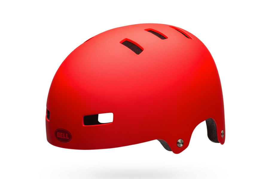 Bell Local Helm - Matte Red