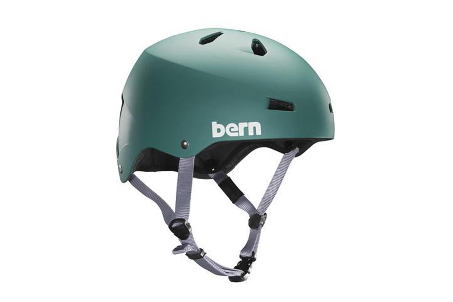 Bern Macon EPS Helm - Summer Green