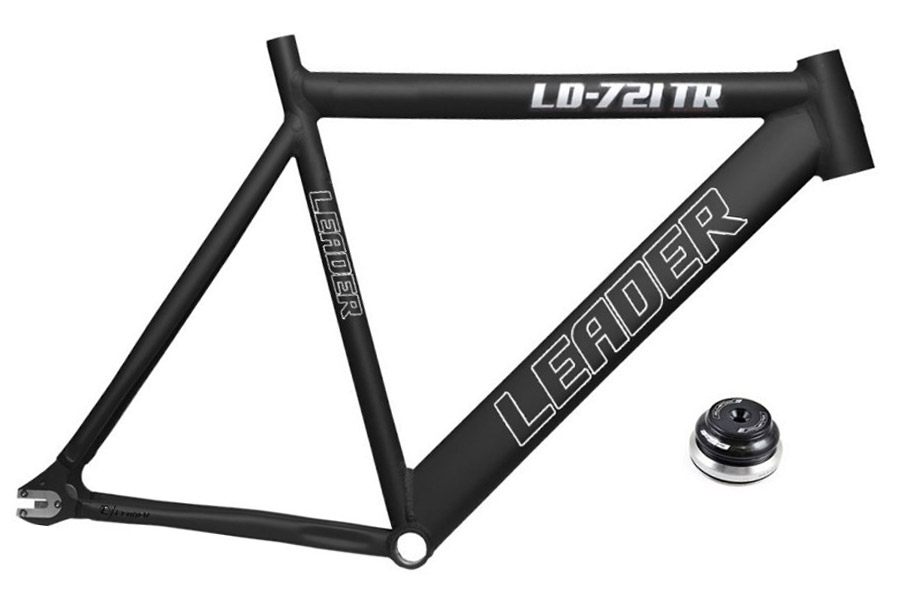 Leader 721 Retro Frame - Zwart