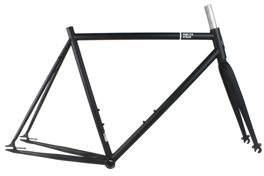 Pure Fix Original Frameset - Mat Zwart