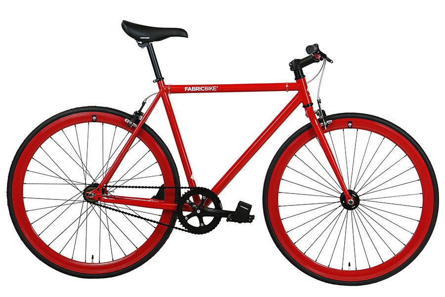 Bicicleta Fixie FabricBike Fully Glossy Red