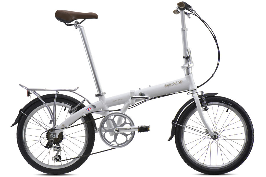 Bicicleta Plegable Bickerton Junction 1307 Country Blanco