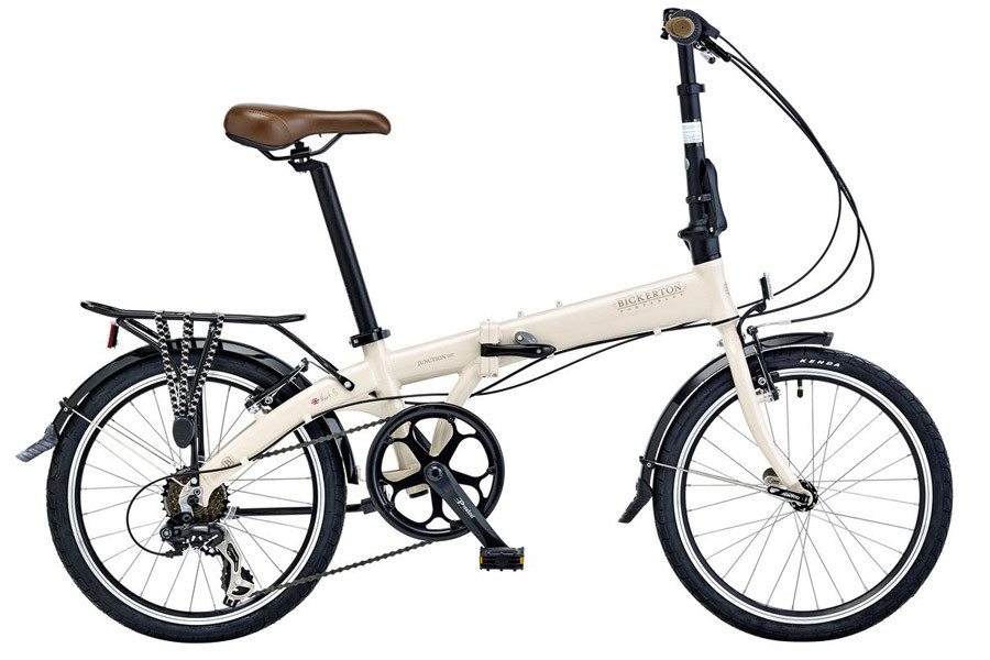 Bicicleta Plegable Bickerton Junction 1507 Country Crema