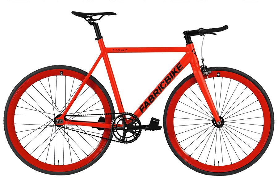 Bicicleta Fixie FabricBike Light Fully Matte Red