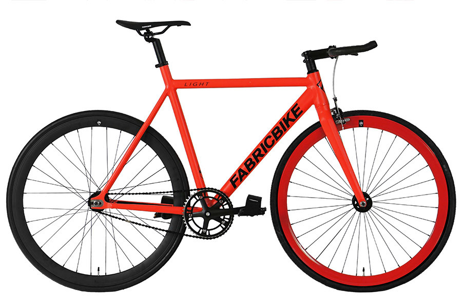 Bicicleta Fixie FabricBike Light Red & Black 2.0