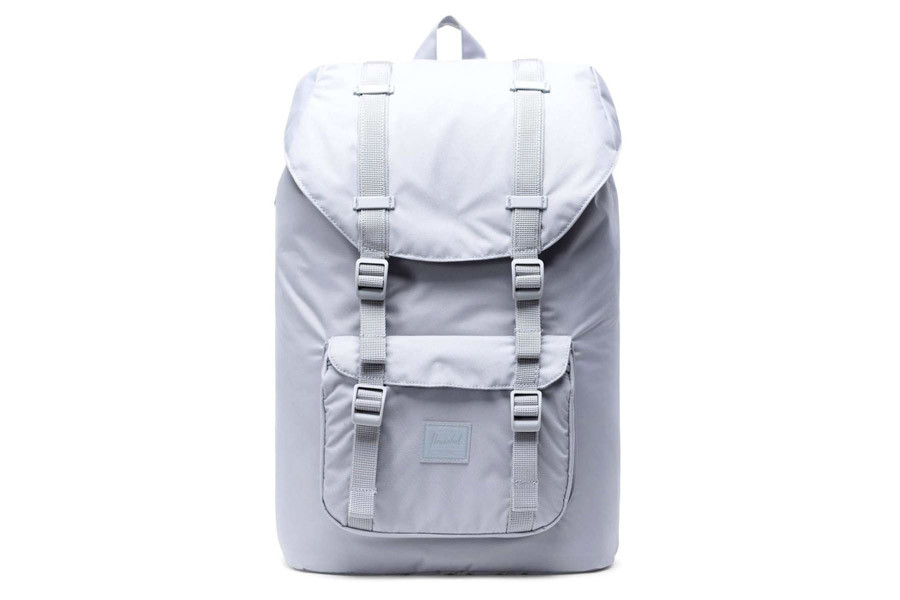 Mochila Herschel Little America Mid-Vol. Light Gris