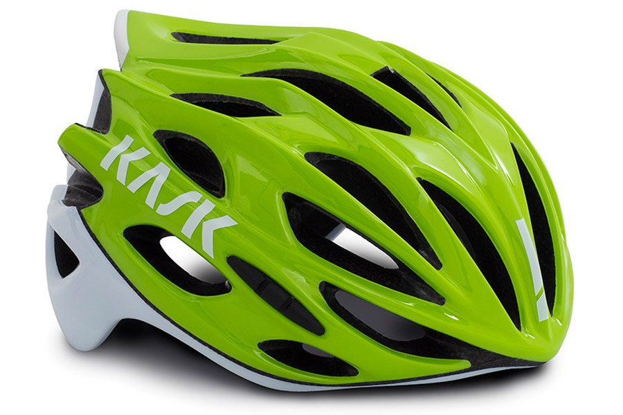Buy Kask Mojito X Helmet Lime And White For Cyclists