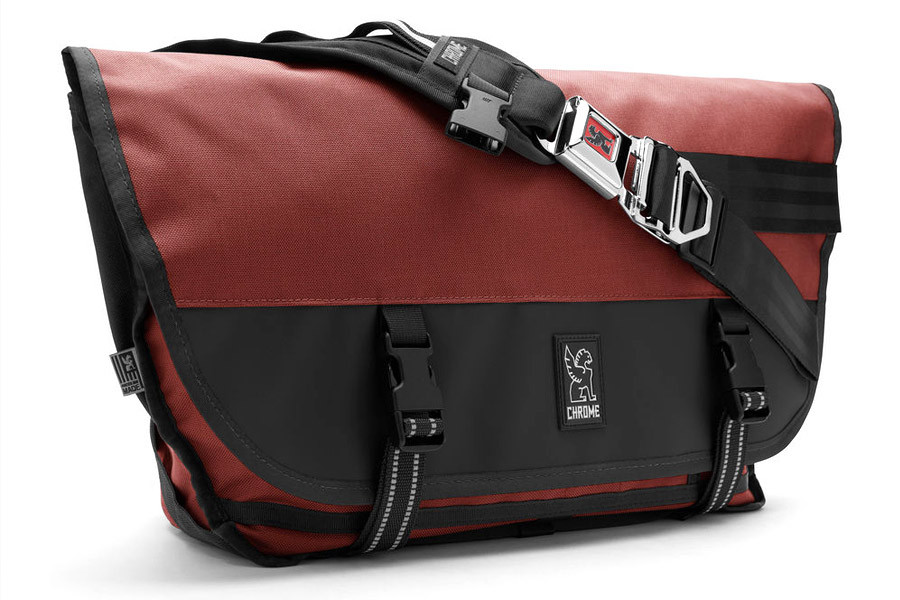 2ea1273d5f23 Buy Chrome Industries Citizen Messenger Bag in red and black