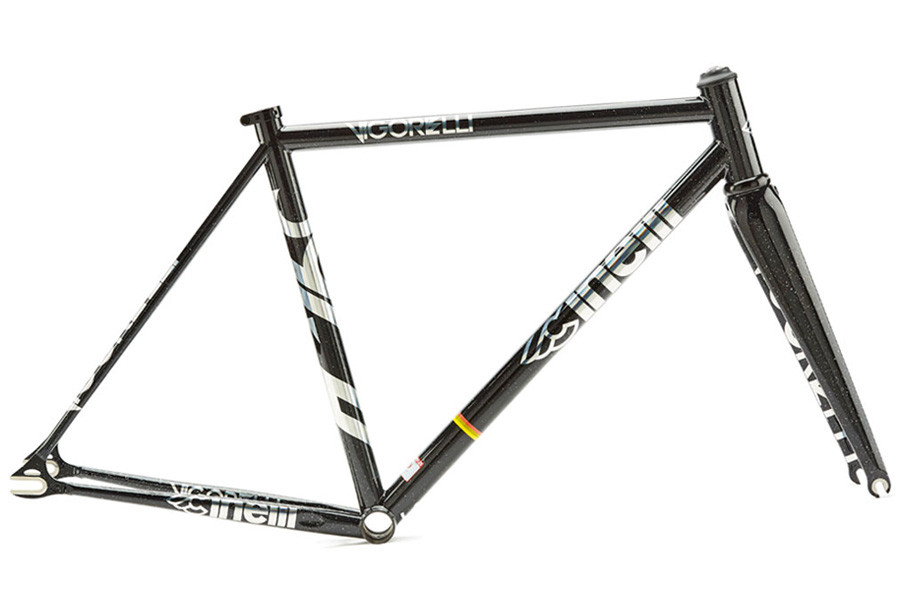 Cinelli Vigorelli Track Steel Frameset Black Night