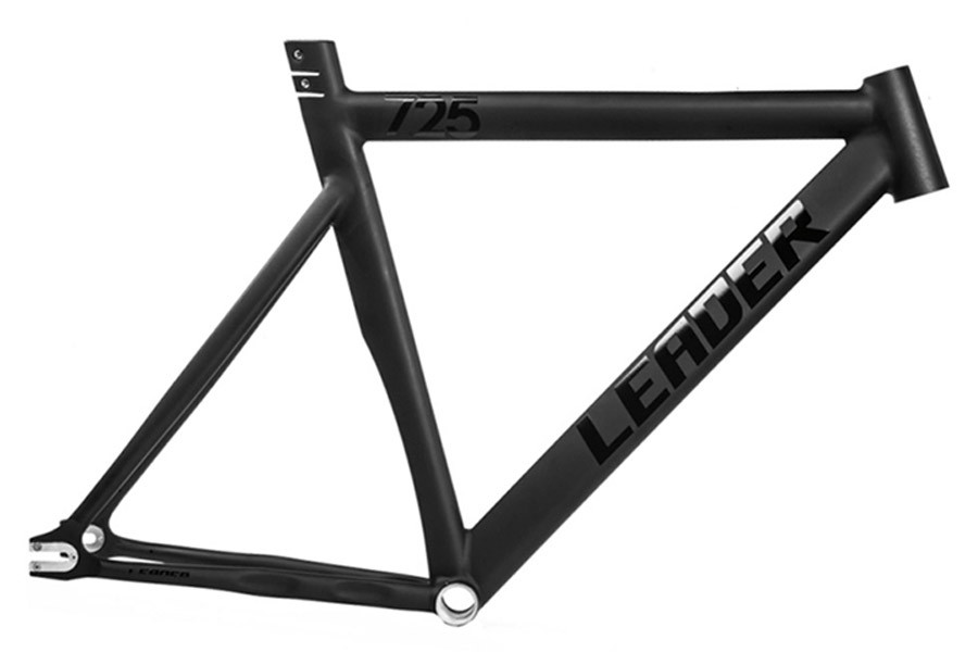 Santa Fixie. Buy Leader 725 frame black for fixie