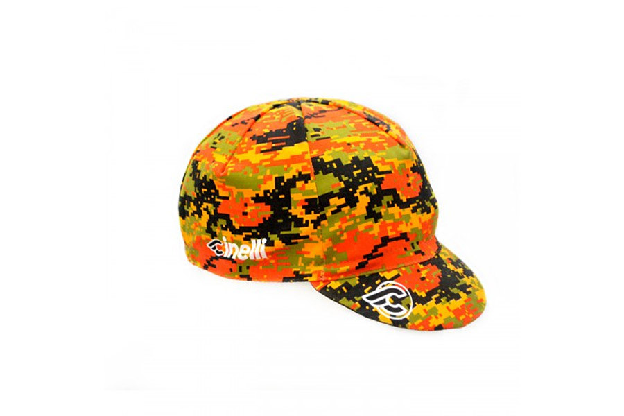 1b3f7ee8a5666 Buy Cinelli Italo 79 Camouflage Cap. Bicycle Caps...