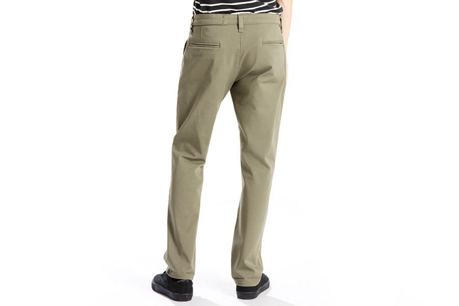 ca33afd7226 Levi s Commuter 511 Slim Fit Trousers for cyclist - Lichen Green