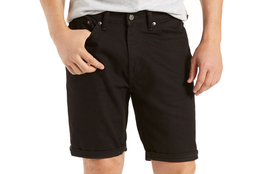 3f48ae62e0 Levi's Commuter 541 Athletic Fit Shorts for cyclist - Black