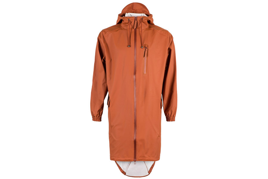 Rains Parka Rust