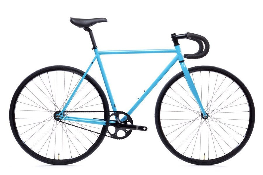Double Butted 4130 Chromoly Steel Tubing State Bicycle Co.Gloss Black