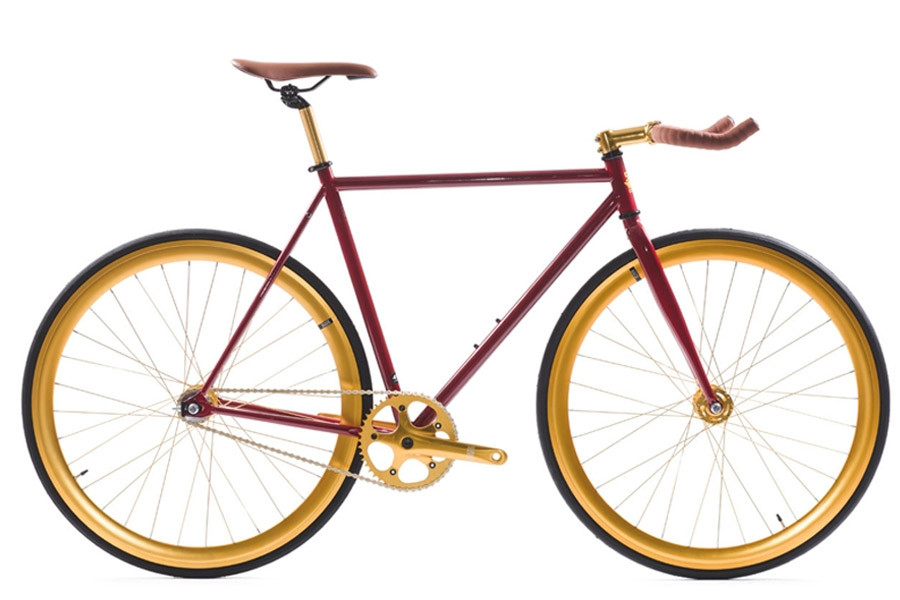 Santa Fixie. Buy the State Bicycle Co. Vintage 2.0.