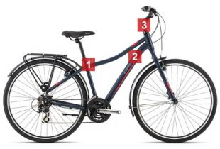 Bicicleta All Use Orbea Comfort 20 Entrance Equipped
