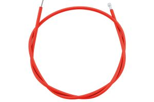 Kit cable+funda freno Rojo